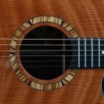 Image of #79 Curly Redwood and Maple Guitar